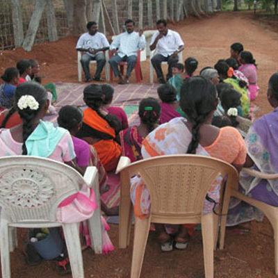 SAWED Meeting with SHG Members