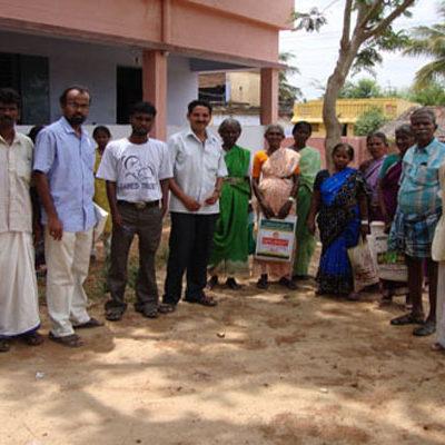 SAWED Eye Camp in a Remote Village