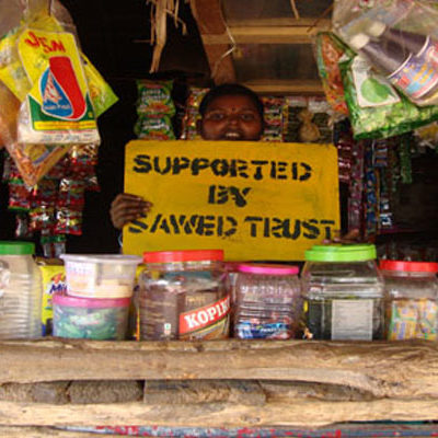 SAWED Micro-Credit for Petty Shop with Beneficiary Women