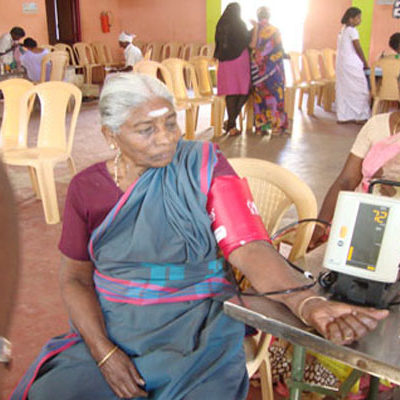 General Health Check up for Village Community