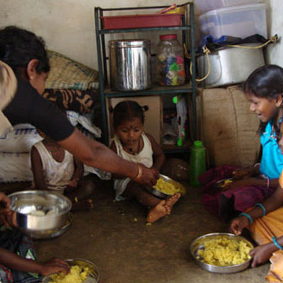 Free Meal programme for Dalit Children