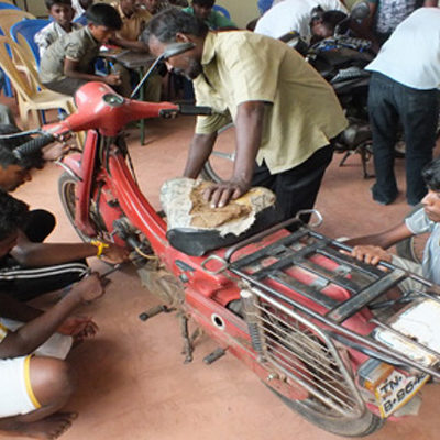 Automobile/Two-wheeler Mechanic Training