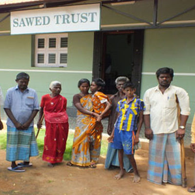 SAWED beneficiary Disabled People